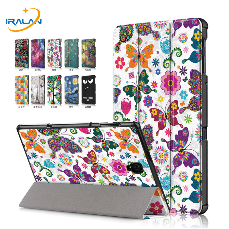 New Ultra-thin Printed PU Leather Case For Samsung Galaxy Tab A 10.5 2018 T590 T595 T597 Magnet Smart Tablet Cover+Film+StylusNew Ultra-thin Printed PU Leather Case For Samsung Galaxy Tab A 10.5 2018 T590 T595 T597 Magnet Smart Tablet Cover+Film+Stylus
