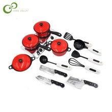 13 шт./лот, красная игрушка для приготовления пищи, детские развивающие игрушки для мальчиков и девочек, Игрушки для раннего образования LYQ