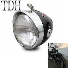 Мотоцикл дюймов 7 дюймов классический ретро Фара передняя для Zundapp DB BMW K750 KS750 M72 R12 R75 R51 R61 BW40 Днепр Урал сидекар