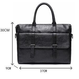 Image 5 - KUDIAN niedźwiedź proste znane marki biznes mężczyźni teczka torba luksusowa skórzana torba na laptopa torba męska na ramię bolsa maleta BIG001 PM49