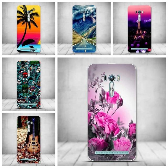 Case For Asus Zenfone 2 Laser ZE500KL ZE500KG Z00ED Z00RD Cover Case  Pattern Silicone Case For Asus ZenFone 2 Laser 5.0