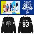 Shinee ONew KPOP Jong Hyun KimKibum Min Ho Taemin moda sweatershirt hoodies algodão com presente