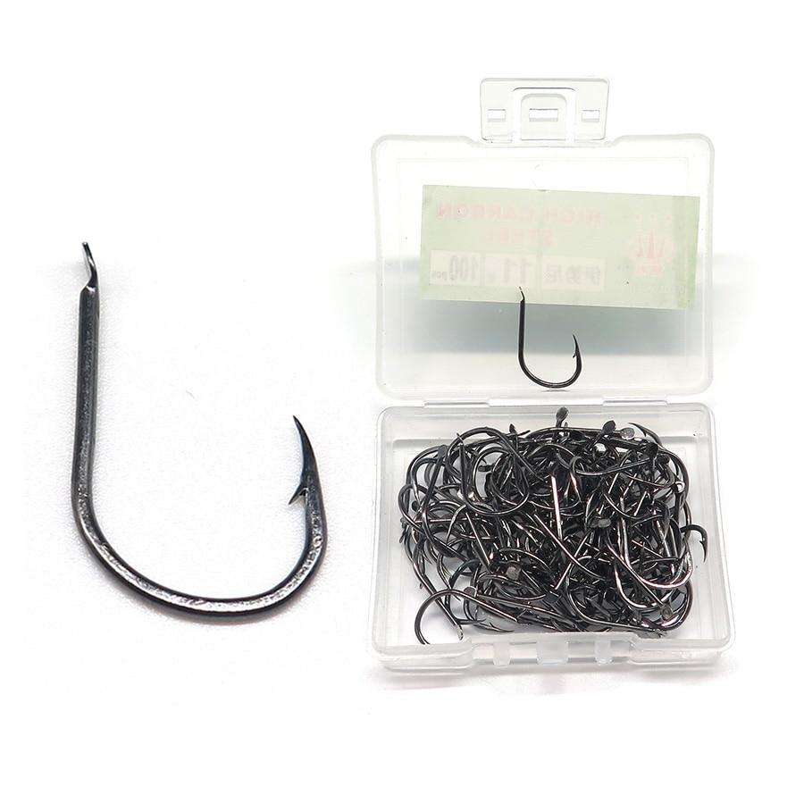 10pcs Heavy Duty Fishing Lure Single Hook Opass OS-01 #1