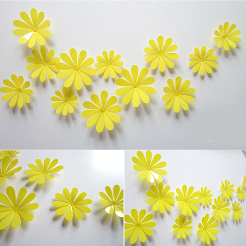 12 pcs/lot Magnetic 3D Butterfly Wall Sticker Art Decal Wall ...