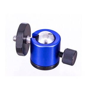 "Image 5 - Mini Ball Head 1/4"" Mount for Camera Tripod Spherical universal for Canon Nikon DSLR Camera Dsr Mount Stand for camera tripod"