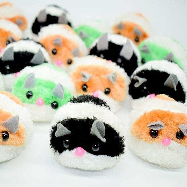 Divertente Gioco di Vibrazione Carino Mini Mouse Giocattoli Per Gatti Peluche Tirando Anello di vibrazione Interattivo Gattino Ratto Giocattolo Dell'animale Domestico del Gatto del Mouse giocattoli