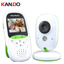 wireless video baby monitor for newborns 2.0″ lcd IR Night Vision Lullabies Temperature display baby Monitor with music player