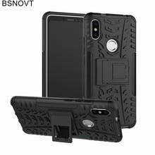 For Cover Xiaomi Redmi S2 Case Soft TPU +Hard Plastic Phone Holder Anti-knock 5.99