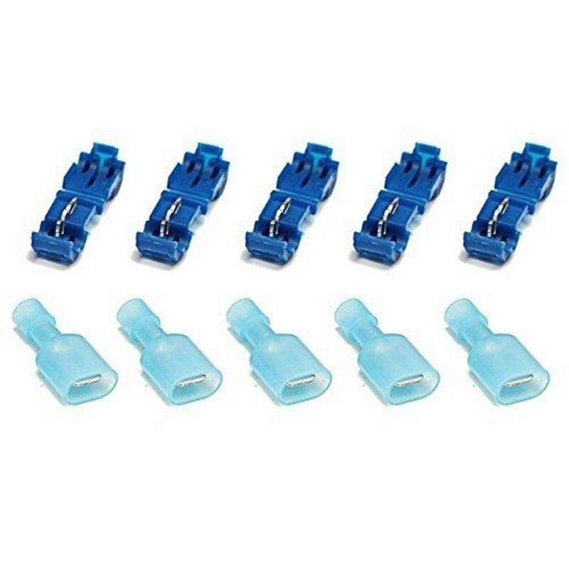10 x Bleu Lame Épissure Connecteur