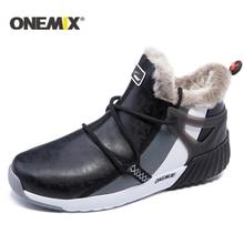 ONEMIX חדש חורף נעלי ריצה נוח גברים של מגפי נשים של מגפי צמר חם סניקרס חיצוני יוניסקס אתלטי נעלי ספורט