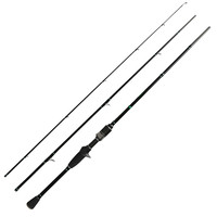 Fast Action Spinning Rod 2.1m Carbon Casting Rod L Power 2 10g 3 Sections Trout Fishing with K Serise Rings Stream Rod