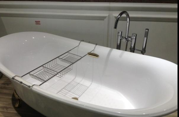 1pc 304 stainless steel Retractable 5 star hotel Bathtub Rack ...