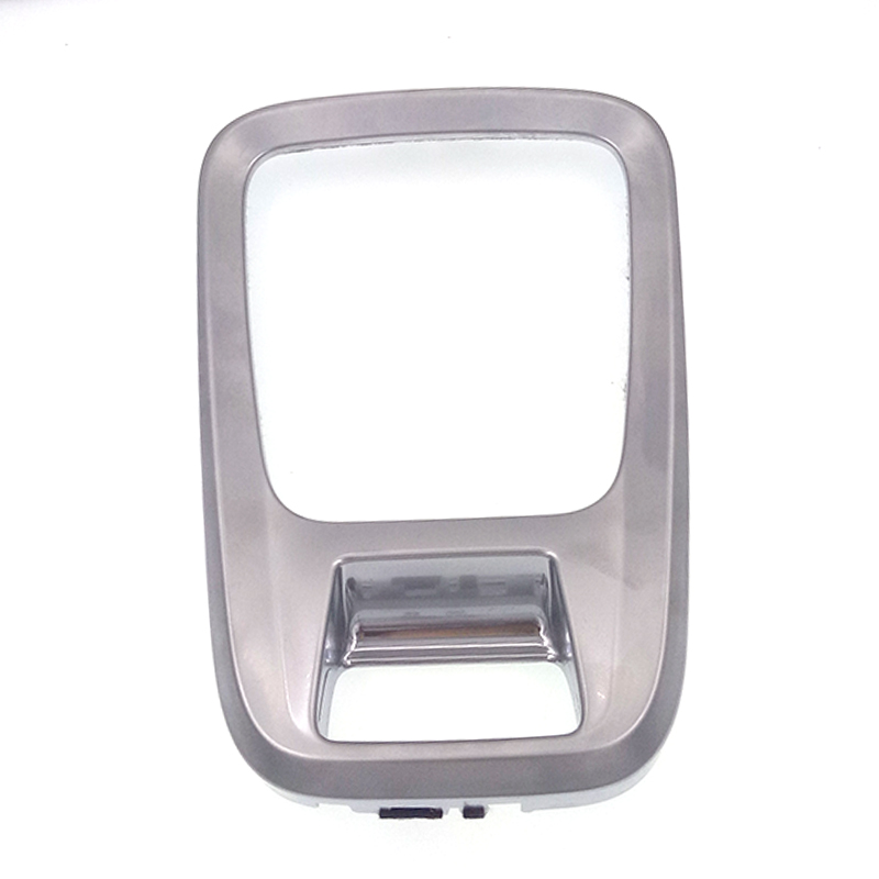 Car styling ABS Chrome Gear Trim Panel Decoration Cover Modling Garnish For Peugeot 3008 car accessories