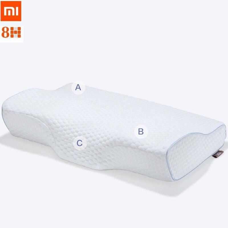 Xiaomi 8 H бабочка дизайн памяти Подушки Детские Средства ухода за кожей шеи Защита от бактерий медленный отскок памяти хлопок Подушки Детские ...