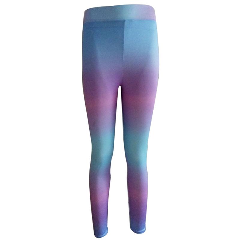 695d59e698ca9 ... Lumier 2017 Neon Rainbow Women's Leggings Printed Yoga Pants Workout  Gym Fitness High Waist Tight Women