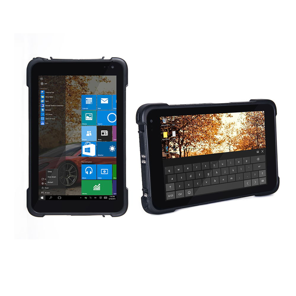 Rugged industrial Tablet PC Windows 10 Home Handheld Mobile Computer Waterproof Shockproof 8 Inch Touch Screen IP67 GPS 8500mAH спрей для объема шерсти для собак beaphar free sprey от колтунов с миндальным маслом 150 мл
