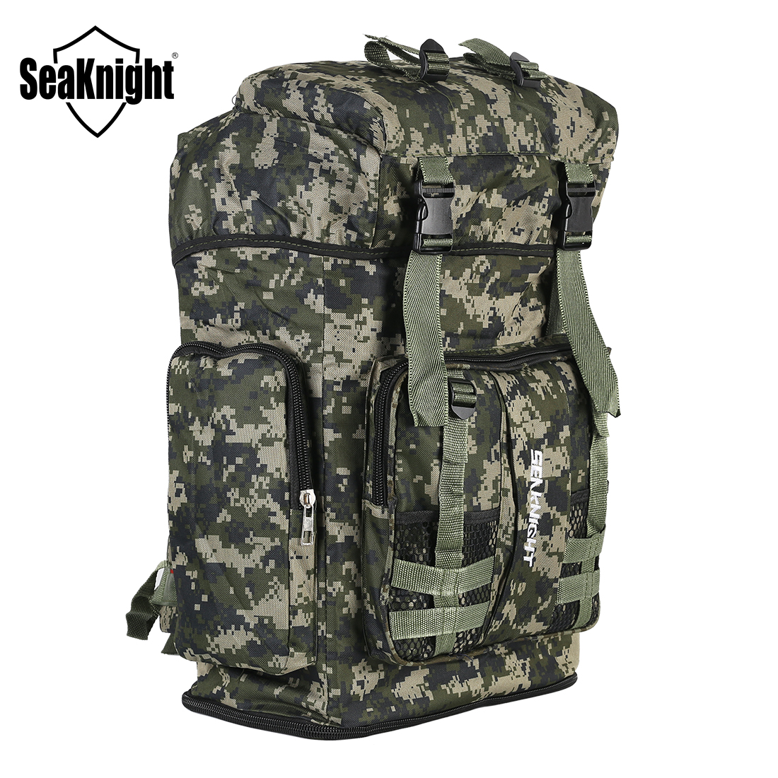 SeaKnight SK008 70L Large Capacity Multipurpose Backpack For Outdoor Sport Camping Hiking Waterproof Fishing Bag 36*64*17cm