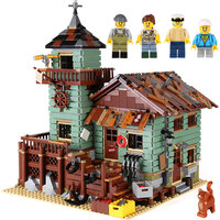 IN STOCK New LEPIN 16050 MOC Series The Old Finishing Store Children Educational Building Legoing 21310