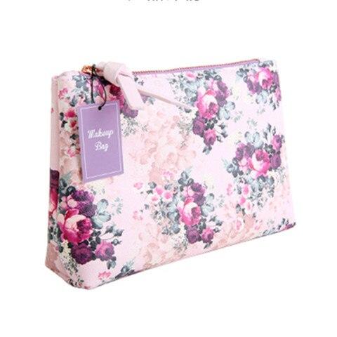 2018 malva rosa pencilcase saco do lapis saco de cosmetica ouro zipper bolsas para armazenamento