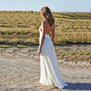 Robe pour Mariage Bohème Chic Célia