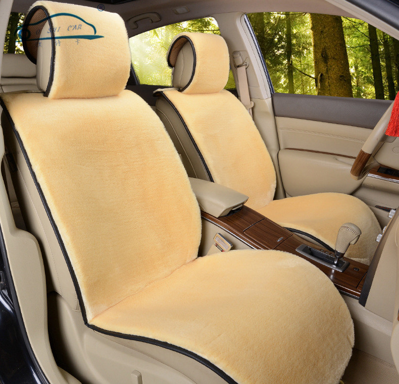 Image 4 - Supply New winter Car Short plush Cushion / Car Seat Cover Plush Seat Pad Wool Mat-in Automobiles Seat Covers from Automobiles & Motorcycles