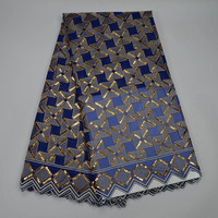 Latest 2017 High Level French Sequins Purple Net Cloth Africa Mesh Lace Fabric High Quality Nigerian