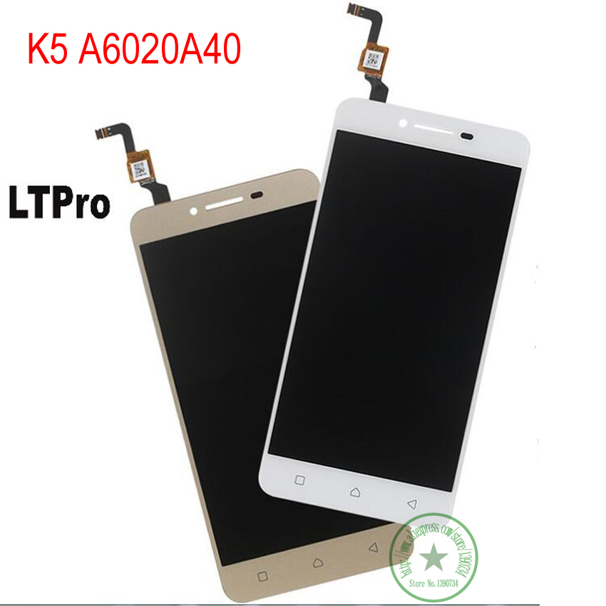 LTPro TOP Quality Touch Screen Panel Digitizer with LCD Assembly For Lenovo vibe k5 A6020A40 Repair