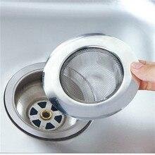LINSBAYWU Stainless Steel Bathtub Hair Catcher Stopper Shower Drain Hole Filter Trap Kitchen Metal Sink Strainer