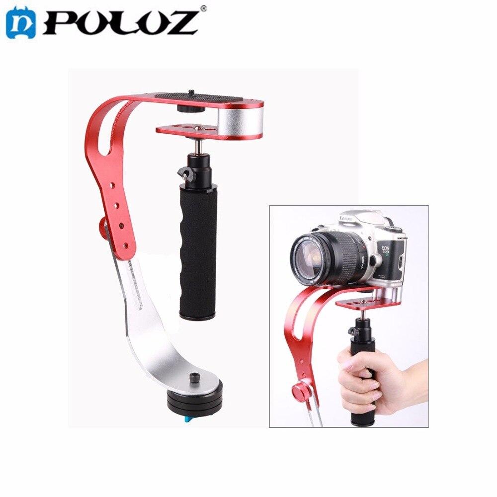 Alliage aluminium Mini caméra numérique de poche caméscope stabilisateur vidéo Steadicam Mobile DSLR 5DII mouvement DV stabilycam pour Gopro