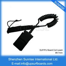 6ft-9ft Surfing Leash 7mm Black Surfboard For Surf