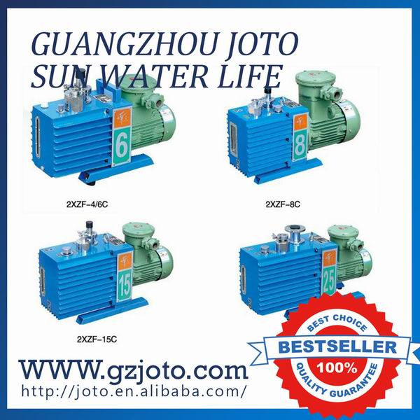 380V/50HZ Direct Two-stage Rotary Vane Air Vacuum Pump 0.75kw Suction Pump 2XZ-6  цены