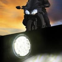 2 Pieces 6000K 8000K 18 LED Round Auto Car Fog Lamp 12V Super Bright White Driving