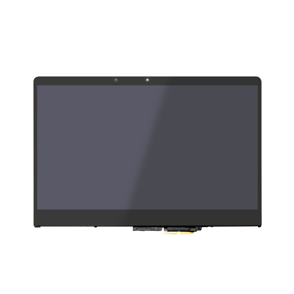 with Bezel LCD Touch screen Digitizer Display Assembly for Lenovo Yoga  710-14ISK 80TY 80TY0009US 80TY005ASP 80TY000QGE