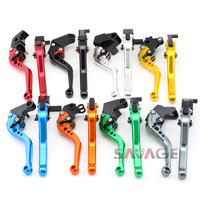 For HONDA CBF125 Stunner 2009 2014, CBR 125R CBR125R 2004 2010 Motorcycle Adjustable CNC Short Brake Clutch Levers 8 Colors
