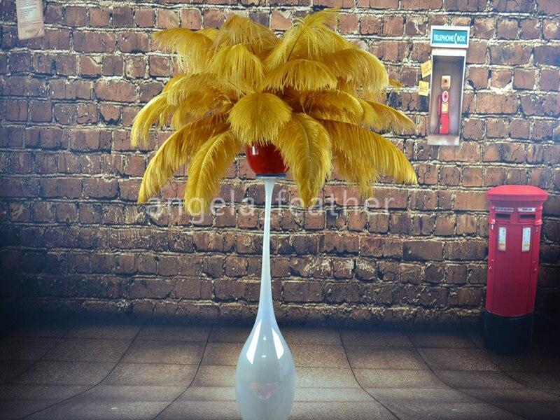 Wholesale pcs lot inch cm gold ostrich