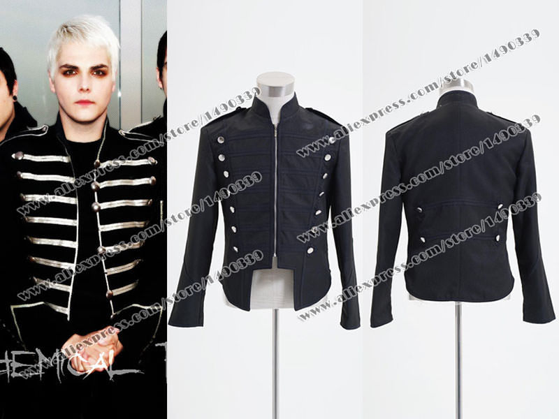 My Chemical Romance Cosplay Military Parade Emo Costume