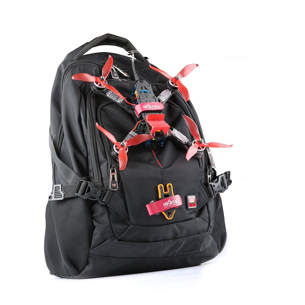 Image 5 - Iflight Super Lightweight Easy To Carry Knapsack Fastener Bundle Mount with Bettery Strap for FPV Backpack-in Parts & Accessories from Toys & Hobbies