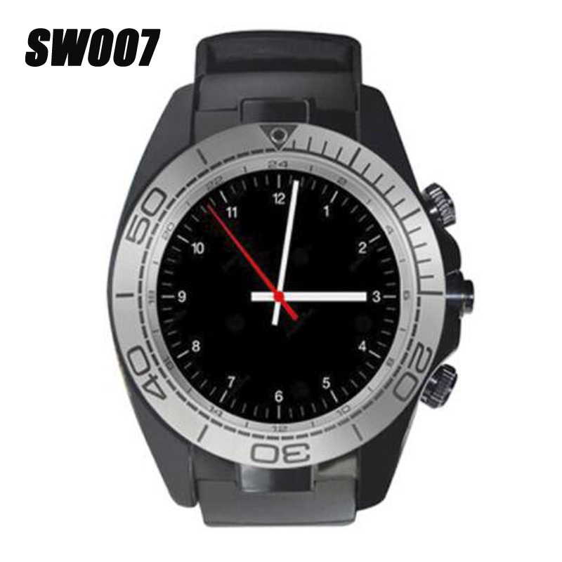 SW007 Bluetooth Smart Watch with Camera Pedometer Wearable Devices Support Sim TF Card Men Smartwatch for Android Phone