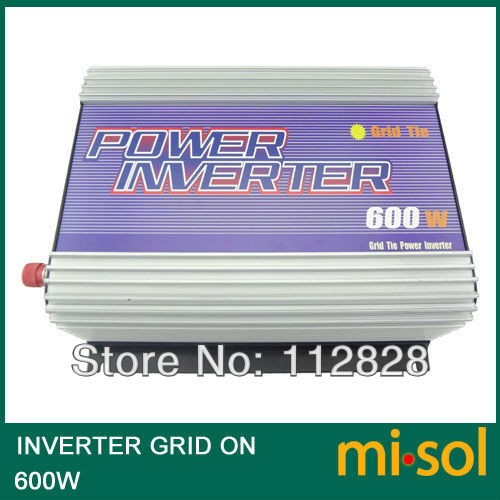 600W Inverter (DC22V-60V to 110VAC), grid tied, for PHOTOVOLTAIC system byt30pi 600 to 218