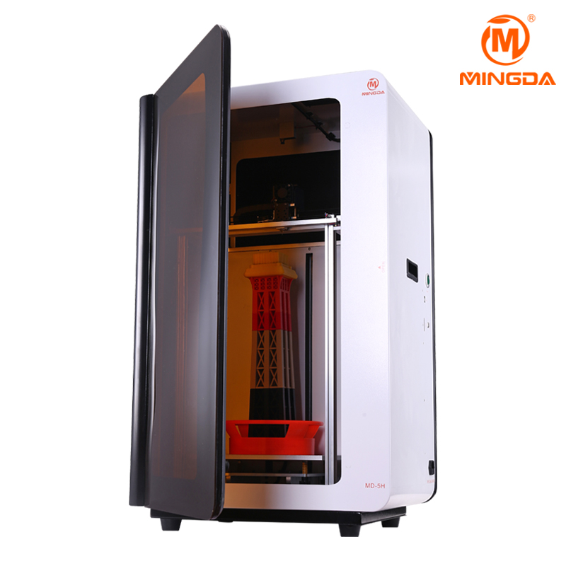 Shenzhen manufacturer high precision 3d printer machine , rapid prototyping large format 300x200x500mm MD-5H 3D printing machine недорго, оригинальная цена