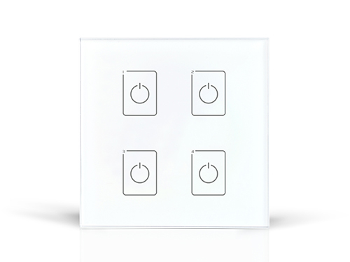 DA4 DALI touch Dimmer;4CH DALI digital dimming signal output da6 ltech dali dimmer dali digital dimming signal output