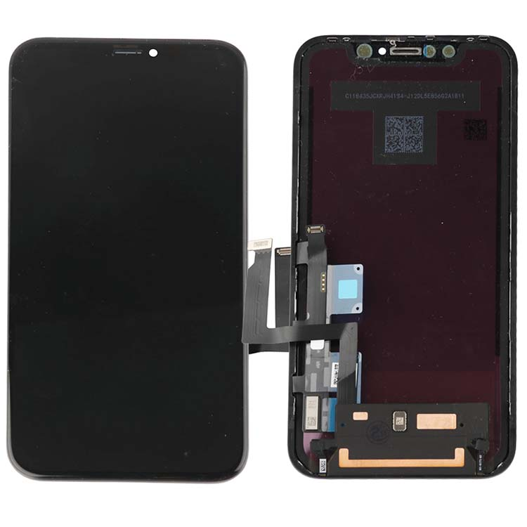 2pcs AAA+++ TIANMA LCD for iphone XR lcd screen digitizer assembly display with frame free tempered glass 2pcs(China)