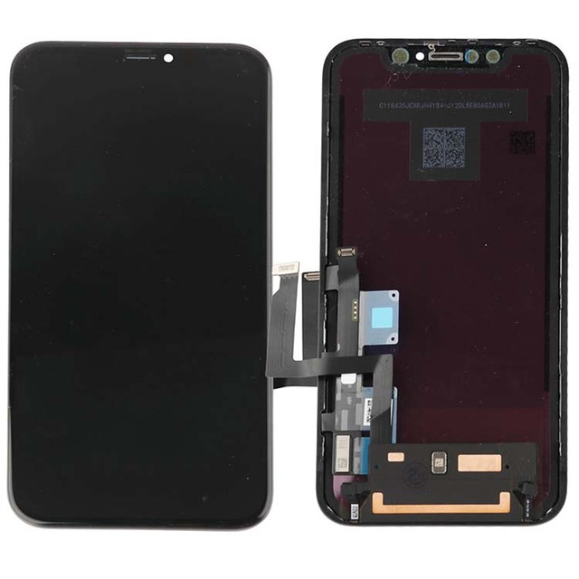 2pcs AAA+++ TIANMA LCD for iphone XR lcd screen digitizer assembly display with frame free tempered glass 2pcs