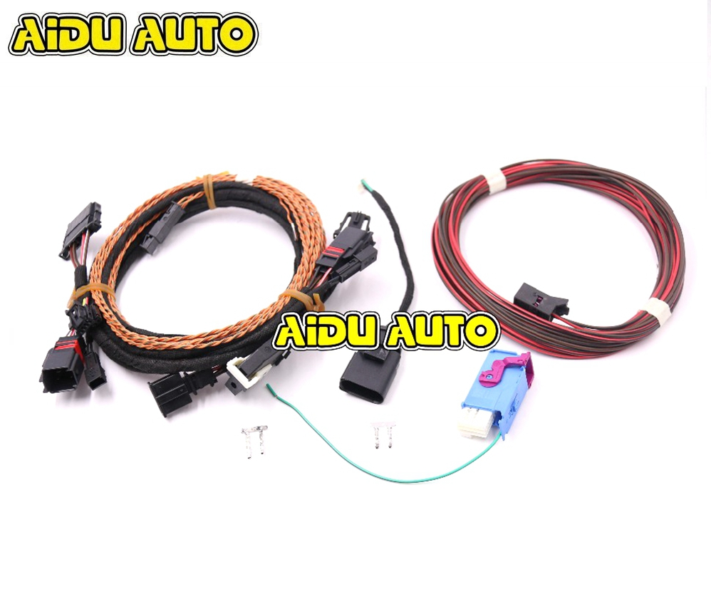 FOR Touareg 7P6 Power Tailgate Tow Bar Electrics Kit Install Harness Wire  Cable