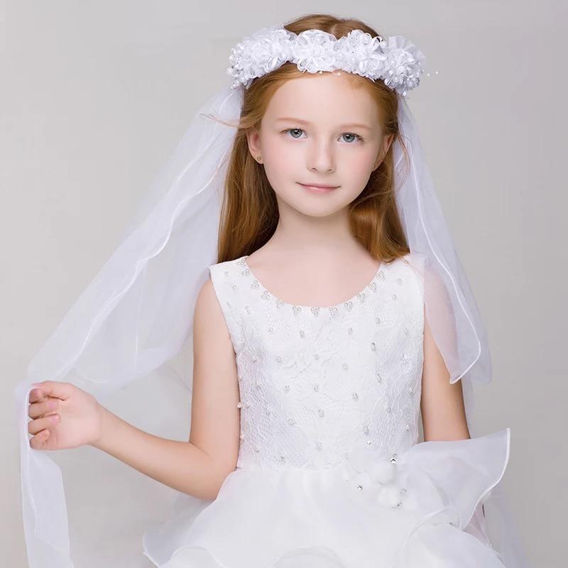 Wedding Hairstyles No Veil: Wedding Bridal/Flower Girls Short Head Veil No Comb No