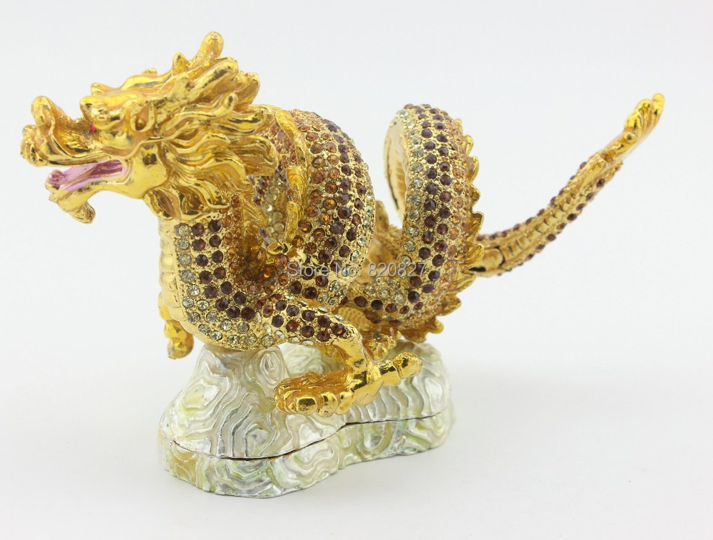 aliexpresscom buy new gold chinese feng shui dragon figurine statue for luck success from reliable figurine collectible suppliers on trinket jewelry chinese feng shui dragon