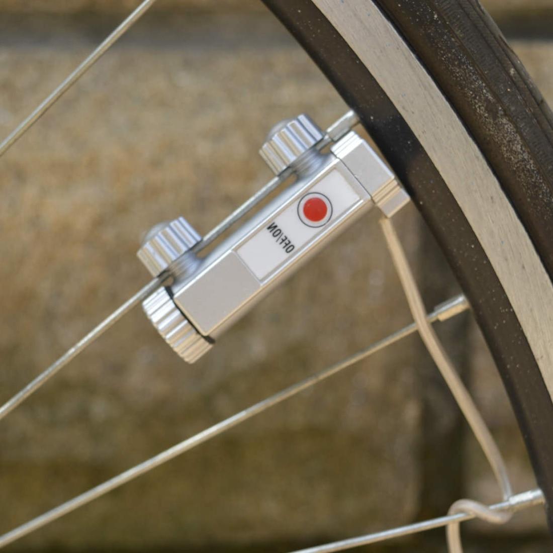 09f6f4197 Ciclismo 20 Luci LED Bicicletta Mountain Bike Luce ha parlato ruota Lampada  Outdoor Sports bicycl