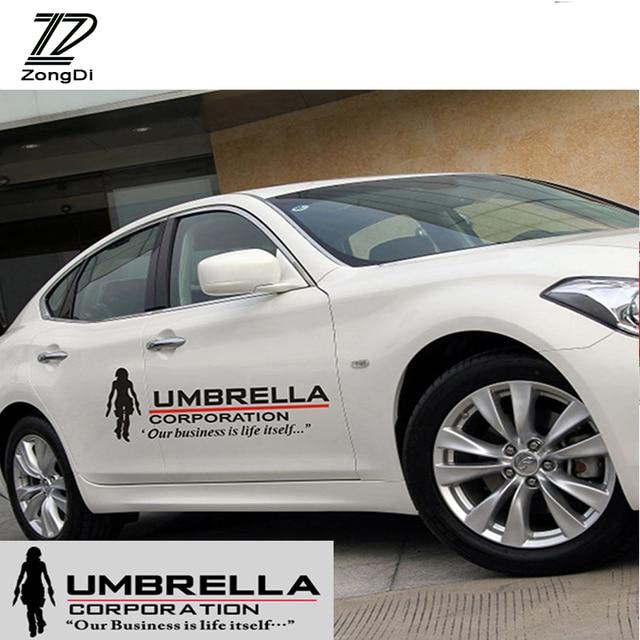 Us 1377 19 Offzd 2x Resident Evil Umbrella Corporation Car Doors Stickers For Bmw E46 E39 E36 Audi A4 B6 A3 A6 C5 Renault Duster Lada Granta In