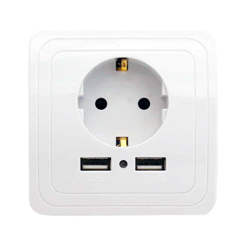Minitiger Smart Home 2A double Port USB adaptateur chargeur mural prise de charge avec adaptateur mural usb prise ue prise prise prise de courant