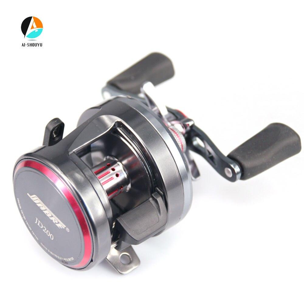 New Trolling Fishing Reel Baitcasting Reel 7+1BB 4.7:1 Saltwater Reels Matel Spool Magnetic Brake Cast Drum Wheel
